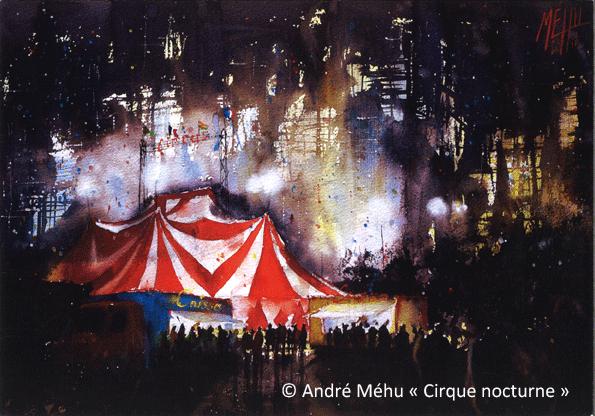 Cirque nocturne andre mehu-1er prix
