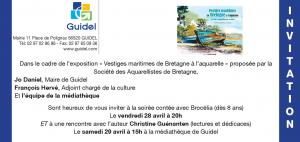 Invitation mediatheque